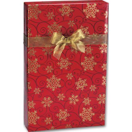"""Snowflake Medallions Gift Wrap, 24"""" x 417'"""