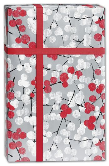Winter Branches Gift Wrap, 24