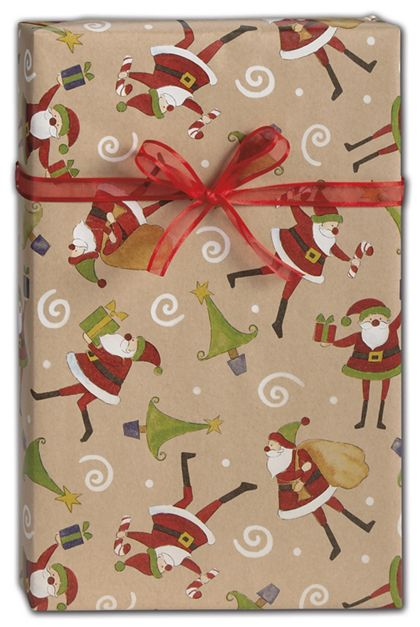 "The Night Before Christmas Gift Wrap, 24"" x 100'"