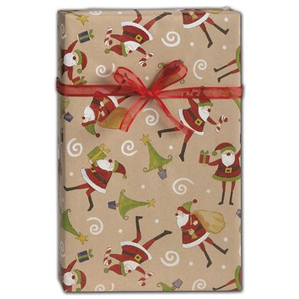 """The Night Before Christmas Gift Wrap, 24"""" x 417'"""