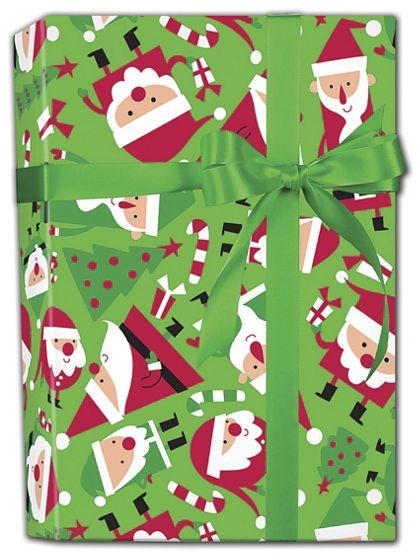 """Santa Soiree Gift Wrap, 24"""" x 100'"""