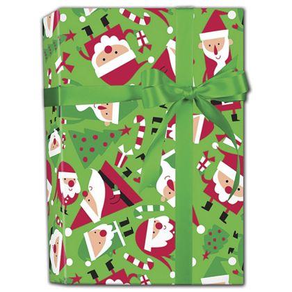 """Santa Soiree Gift Wrap, 24"""" x 417'"""