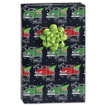 Deck the Halls Gift Wrap, 24