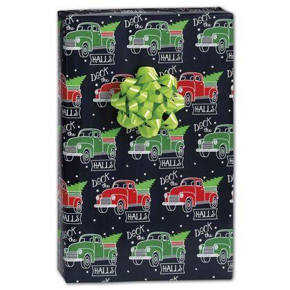 "Deck the Halls Gift Wrap, 24"" x 417'"