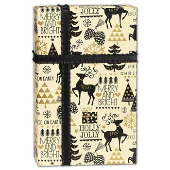 Merry and Bright Gift Wrap, 24