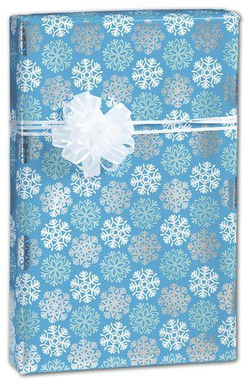 Snowflakes Gift Wrap, 24