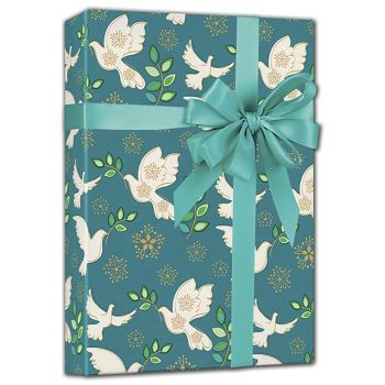 Holiday Peace Gift Wrap, 24