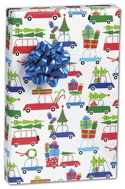 "Christmas Eve Rush Gift Wrap, 24"" x 100'"