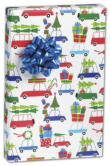 Christmas Eve Rush Gift Wrap, 24