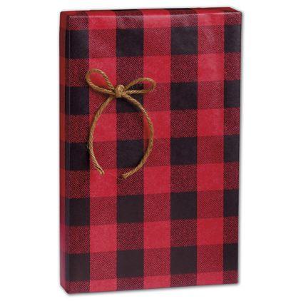 "Festive Flannel Gift Wrap, 24"" x 100'"