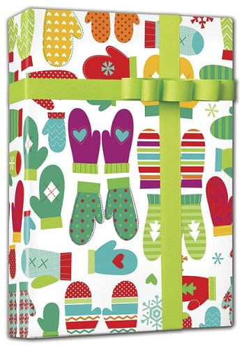 Mod Mittens Gift Wrap, 24