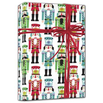 Nutcracker Gift Wrap, 24