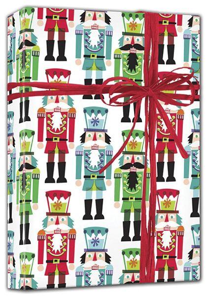 "Nutcracker Gift Wrap, 24"" x 100'"