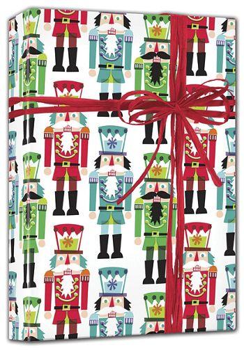 Nutcracker Gift Wrap, 24
