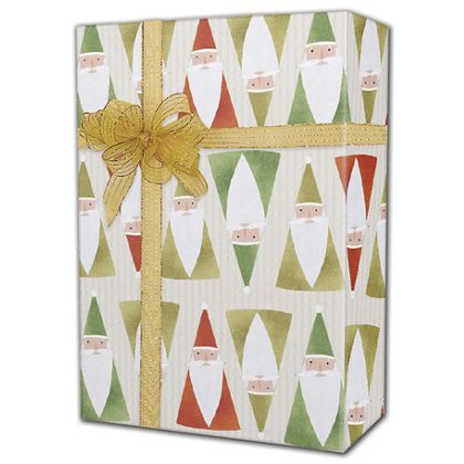 "Acute Santa Gift Wrap, 24"" x 417'"