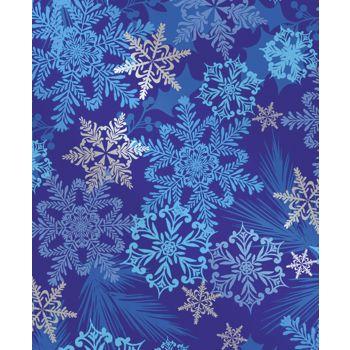 Snowflake Swirl Gift Wrap, 24