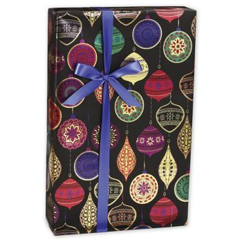 "Opulent Ornament Gift Wrap, 30"" x 208'"