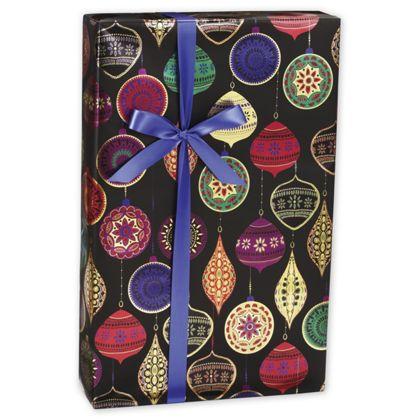 "Opulent Ornament Gift Wrap, 30"" x 208'"