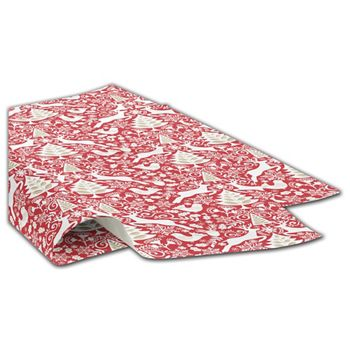 Red Scandinavian Tissue Paper, 20 x 30""