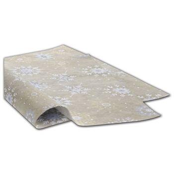"Snowflake Sky Tissue Paper, 20 x 30"""