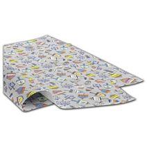 """Dreidel Party Tissue Paper, 20 x 30"""""""