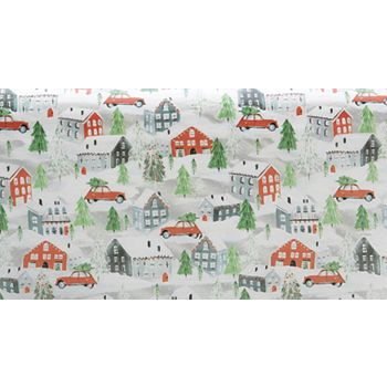 Christmas Town Tissue Paper, 20 x 30