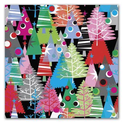 "Neon Trees Gift Wrap, 5' x 30"""