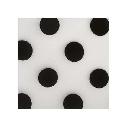 Black Dots Frosted color swatch