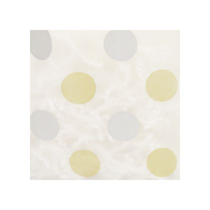 Gold & Silver Dots Frosted color swatch