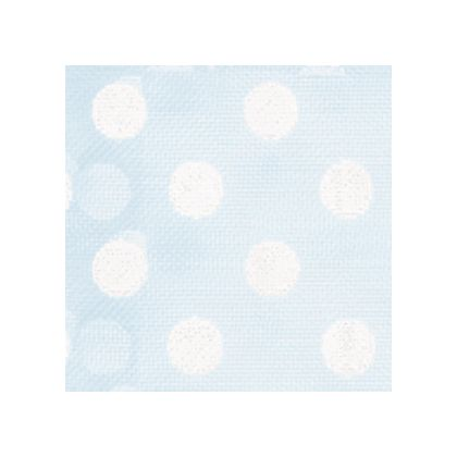 White Dots on Light Blue color swatch