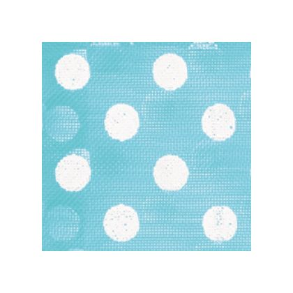 White Dots on Teal color swatch
