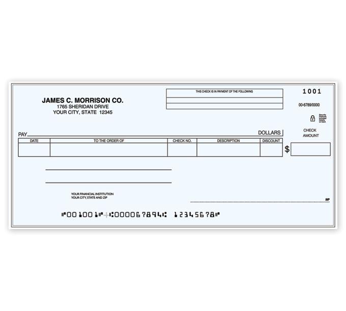 C481-Cash Disbursement One Write CheckC481