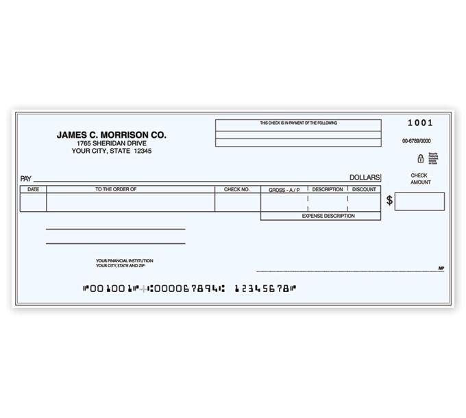 C483-Accounts Payable One Write CheckC483