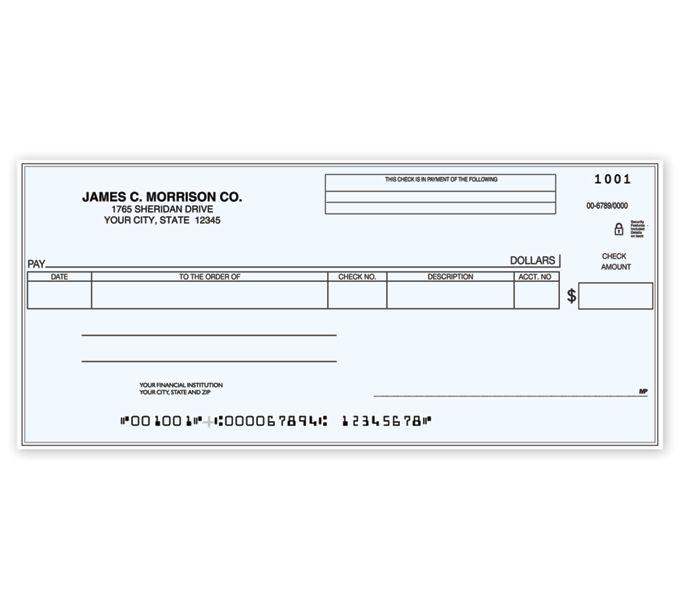 C484-Cash Disbursement One Write CheckC484