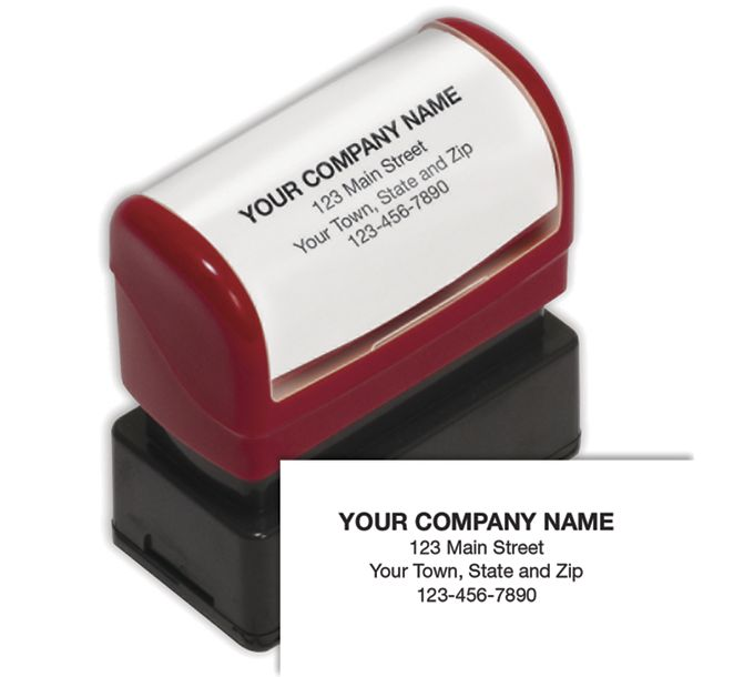 Name and Address Stamp, Small - Pre-InkedD2022S