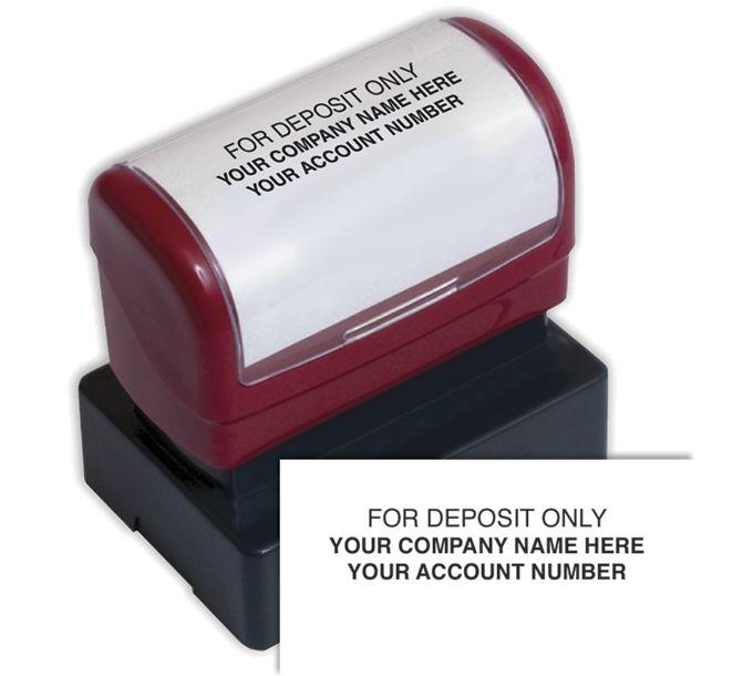D2023B-Endorsement Stamp - Pre-Inked, Custom LayoutD2023B