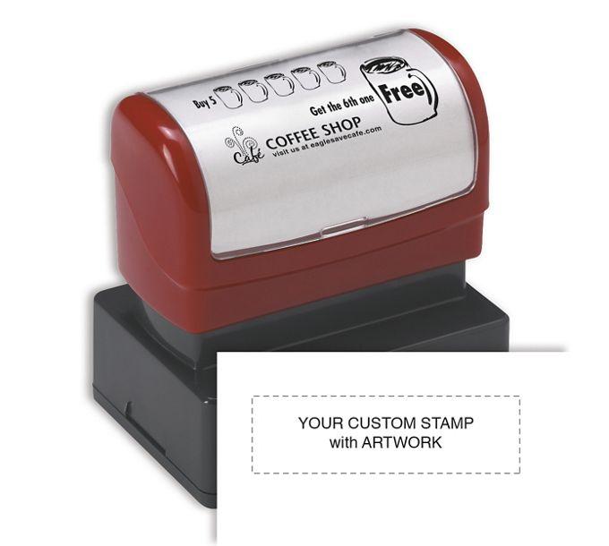 D2024-Custom Stamp with Artwork - Pre-InkedD2024