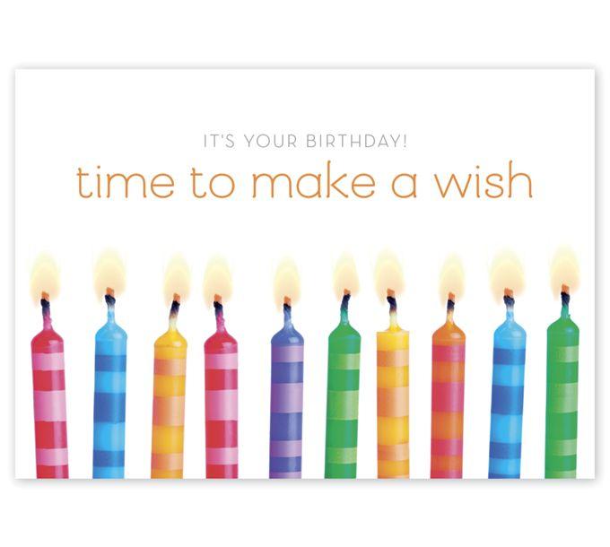 Wish Time! Happy Birthday CardsD2595BD