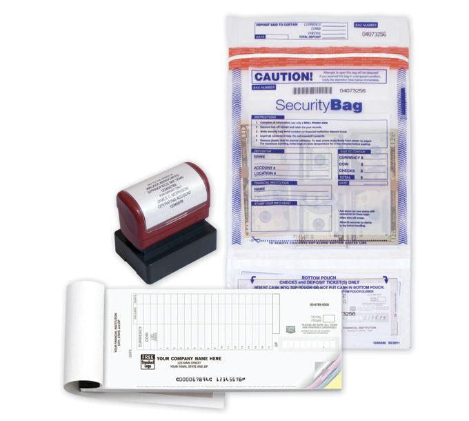 Deposit Supplies Starter Kit w/ Dual Pocket BagsDEPKIT2