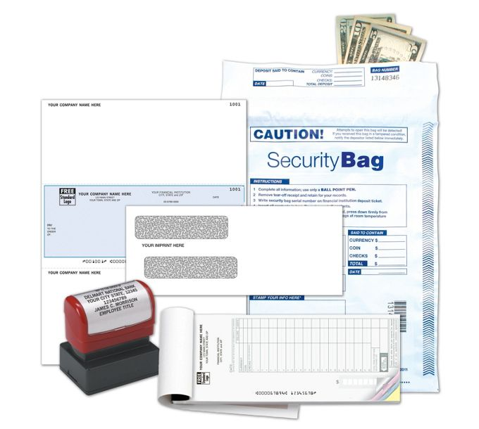 Sage50 Laser Checks - Business Check KitDKLP2