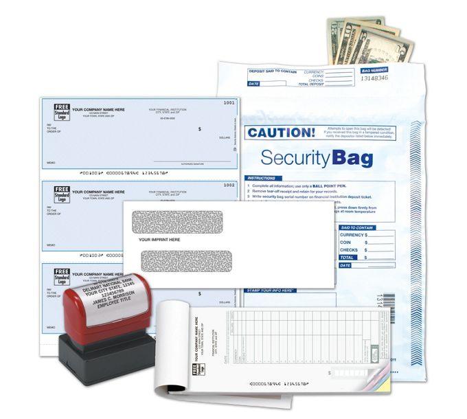 DKLQ5-3-to-Page Laser Checks - QuickBooks - Business Check KitDKLQ5