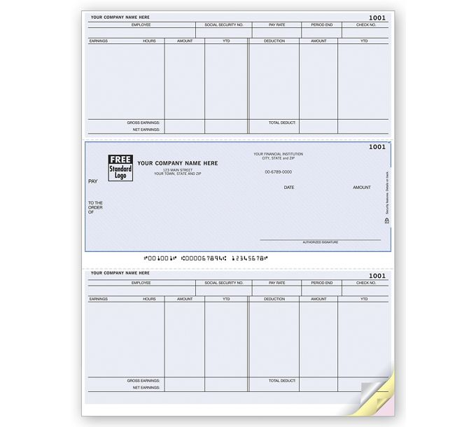 Laser Payroll Check, Compatible with MASDLM328