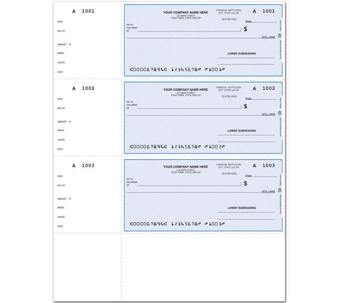 DLW008-Laser Wallet Check, LinedDLW008