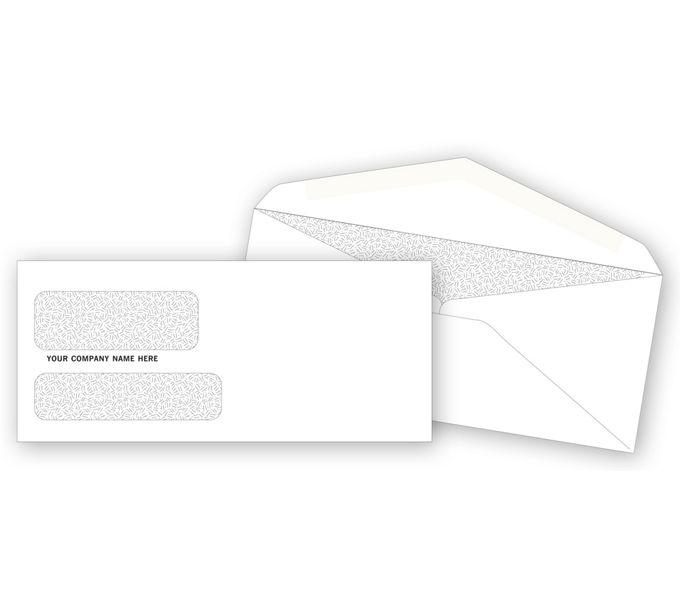 DW3787-Double Window Confidential EnvelopeDW3787