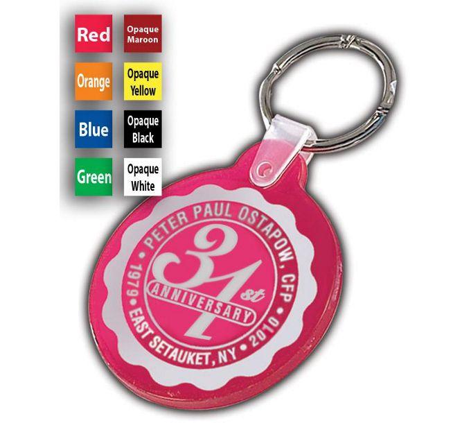 F115333-Anniversary Key Tag, CircleF115333