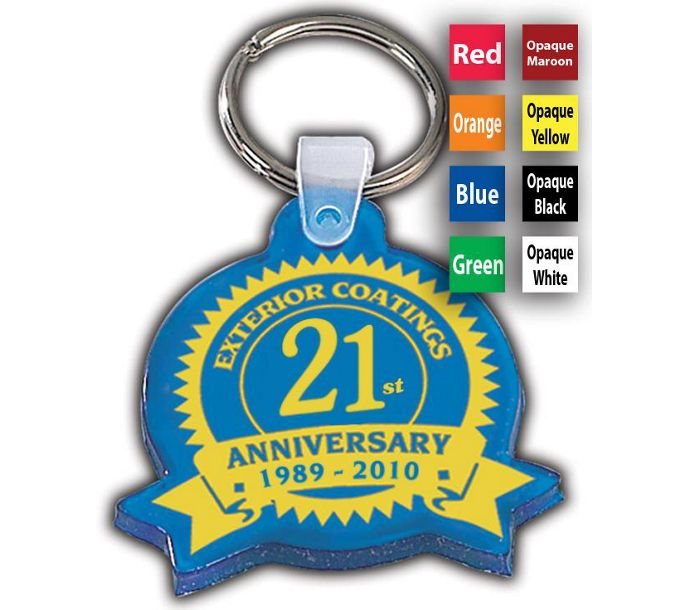 F115334-Anniversary Key Tag, BannerF115334