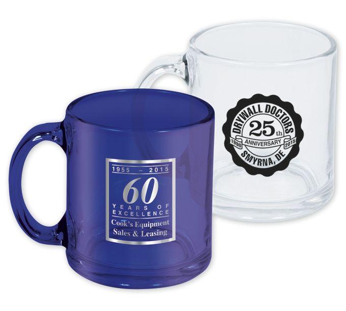 F115342-Glass Anniversary MugF115342