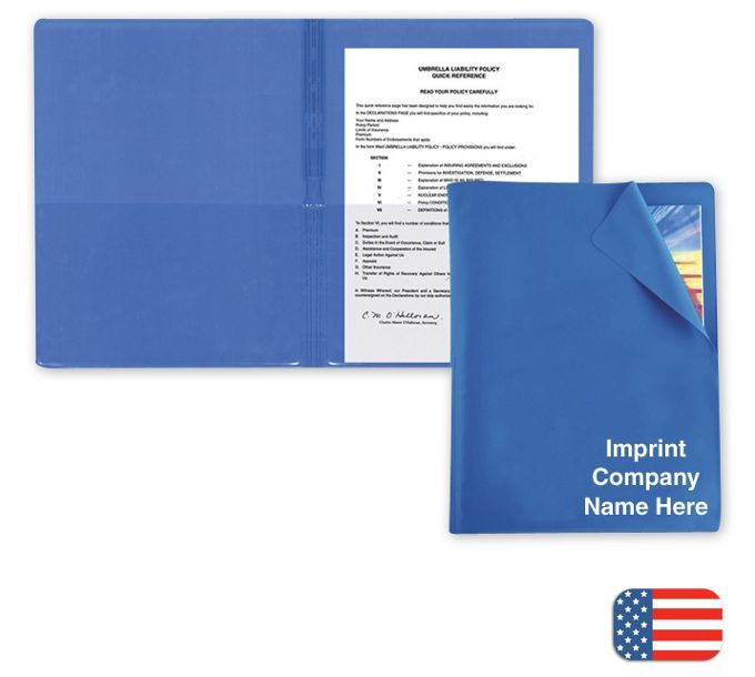 F115346-Flexible Cover Presentation FolderF115346