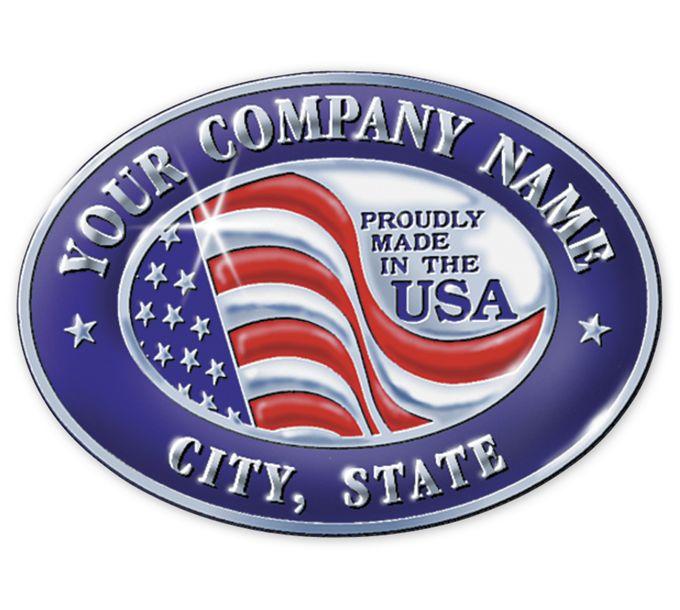 FSEMA11-Personalized Made in America Seals MA11FSEMA11