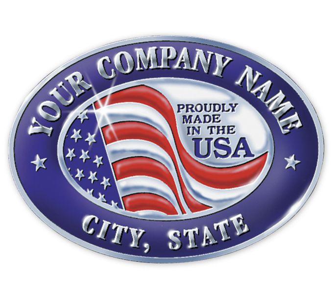 FSEMA1-Personalized Made in America Seal MA-1FSEMA1